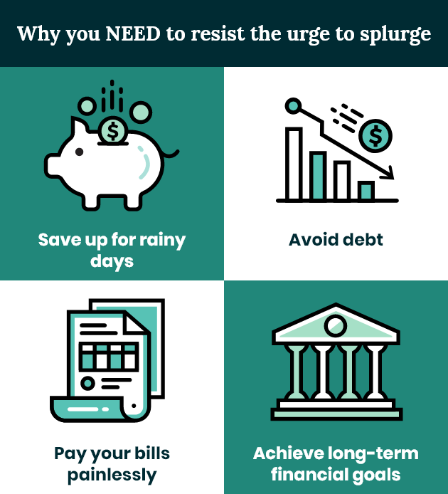 How to stop wasting money infographic