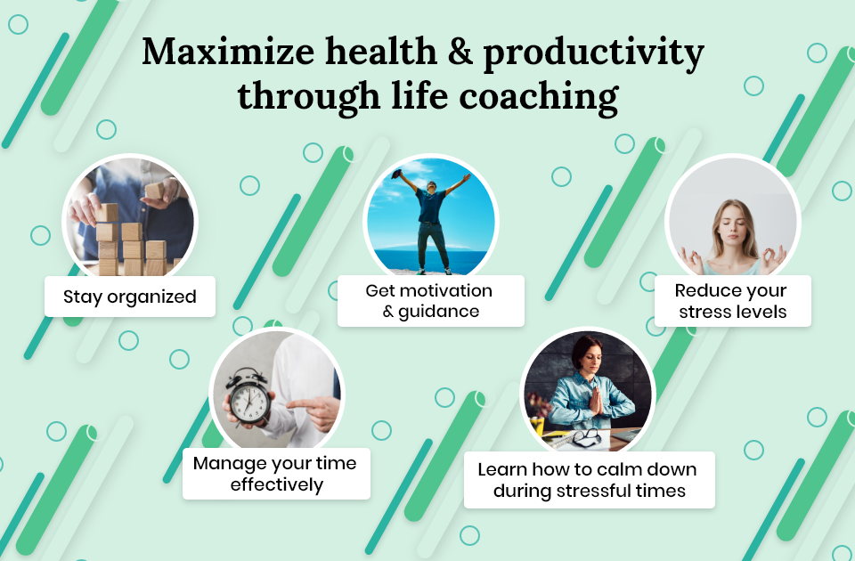 Maximize health and productivity through life coaching