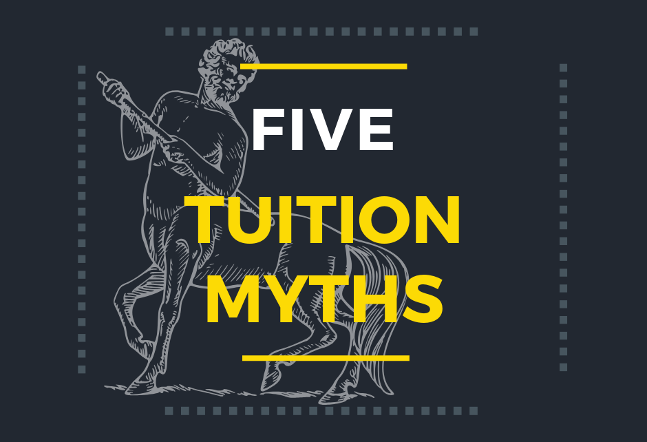 Five tuition myths