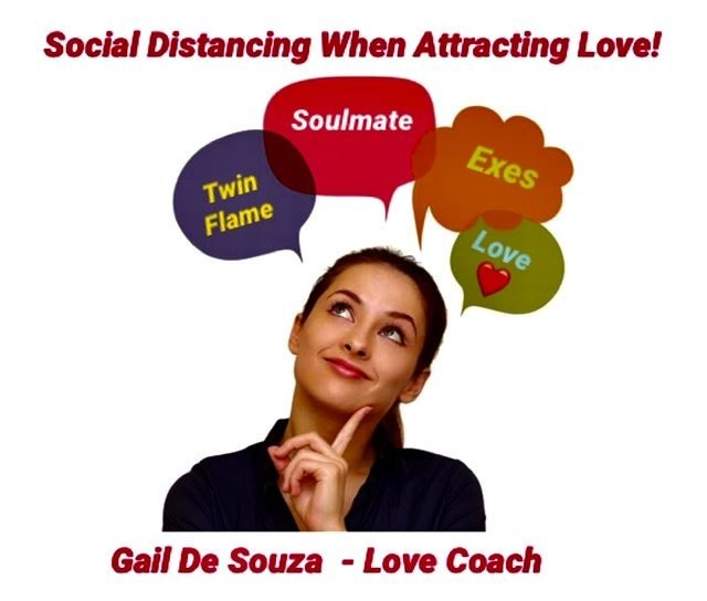 Social distancing when attracting love