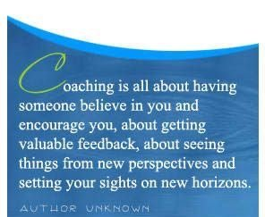 All about coaching